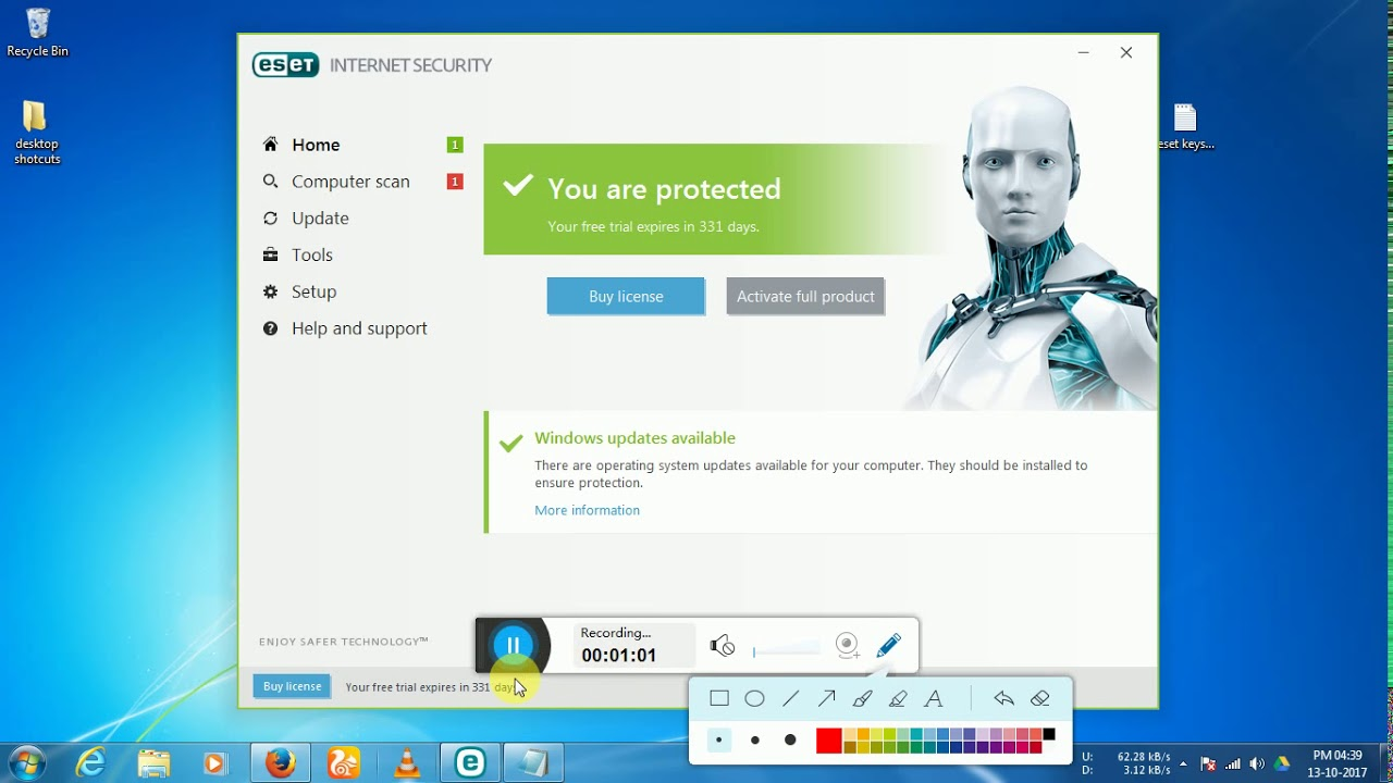 Eset Smart Security 12 License Key 2019 - resumeshara